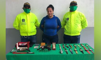 Capturan a mujer implicada en robo en vivienda del norte