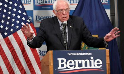 Bernie Sanders, senador demócrata.