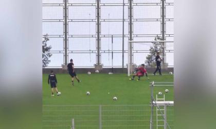 Cristiano Ronaldo vuelve a entrenar donde se inició en el fútbol