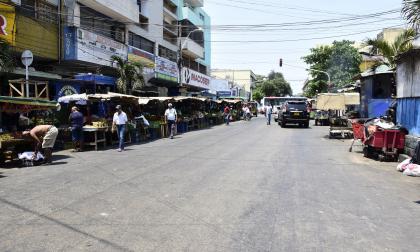 El 'pico y cédula' fue adoptado por la administración Distrital par que la ciudadanía pueda salir a la calle a abastecerse de alimentos.