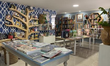 Interior de Nido de Libros, de Barranquilla, una de las librerías beneficiadas.