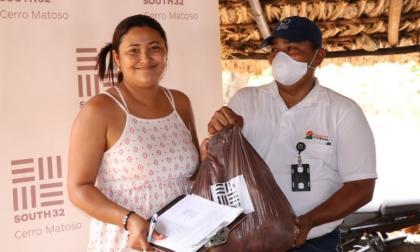 12.000 mercados entrega Cerro Matoso a comunidades vulnerables