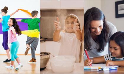 Juegos, cocina, teatro y talleres para celebrar el Día del Niño desde casa