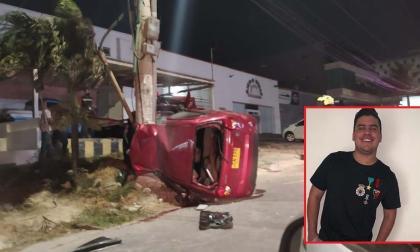 Posible exceso de velocidad, la hipótesis de Policía sobre accidente de Moisés Díaz