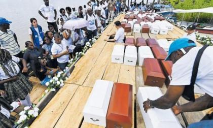 18 años de guerra y dolor en Bojayá