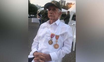 Luis Peláez Isaza, veterano de la Guerra de Corea.