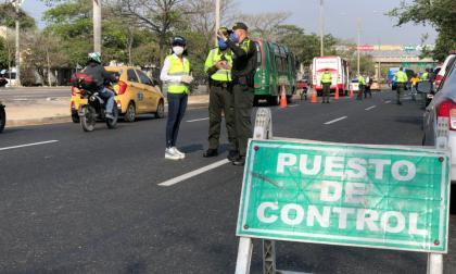 Estas son las vías de mayor accidentalidad en Barranquilla durante la cuarentena
