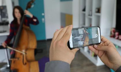 En video | COVID-19 le cambia la partitura a los músicos de la Filarmónica de Bogotá
