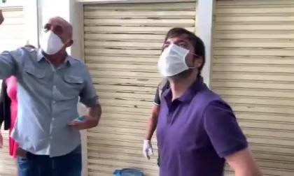 En video   Pumarejo acompañó a libreros de San Nicolás en su retoma de actividades