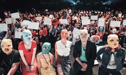 Vuelve Pussy Riot con un disco contra la violencia machista en Rusia