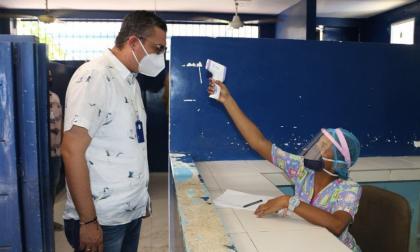 Vigilancia por riesgo de coronavirus en la cárcel de Montería