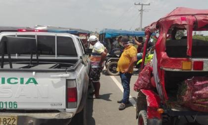 Habitantes de Sitionuevo bloquearon la Vía de la Prosperidad exigiendo ayudas alimentarias
