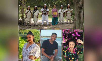 Participantes de La Guajira y personal del reality.