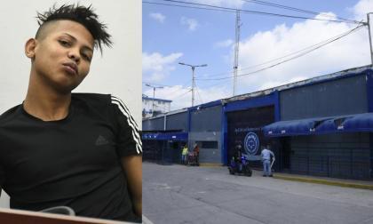 Daniel Osorno Márquez paga una condena por hurto calificado y agravado en la Penitenciaría El Bosque.