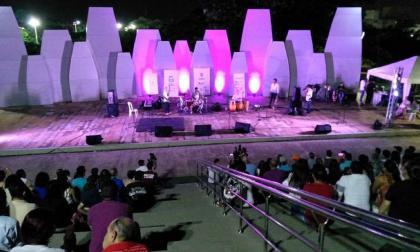 Vista de un concierto en Barranquilla.