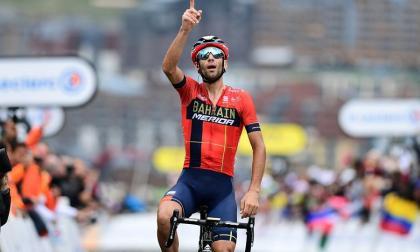 Vincenzo Nibali, ciclista italiano.