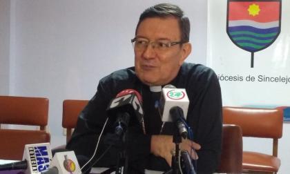 Monseñor José Clavijo Méndez, obispo de Sincelejo.