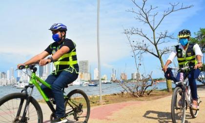 Cartagena le apuesta al uso masivo de la bicicleta