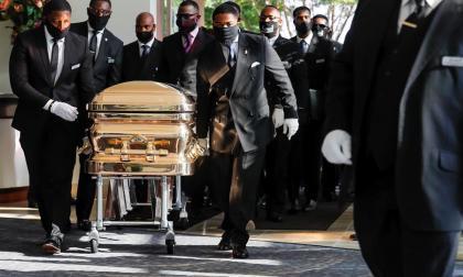 Estados Unidos despide a George Floyd en un funeral privado