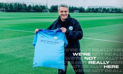 """""""Estoy encantado"""", dice Lillo al ser presentado en el Manchester City"""