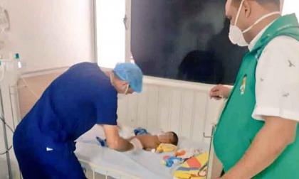 Encuentran bebé abandonado en Maicao