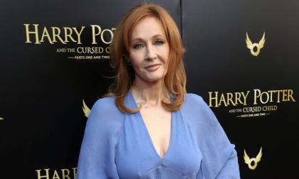 La escritora J.K Rowling, autora de Harry Potter.