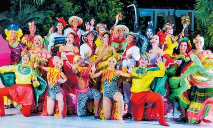 Integrantes de la Corporación Cultural Barranquilla.
