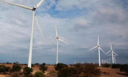 Parque eólico en Uribia, la Guajira.