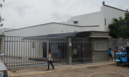 Fachada de la clínica Adelita de Char, en Soledad.