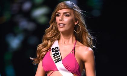 Ángela Ponce representó a España en Miss Universo 2018. Fue la primera mujer trans en el certamen.