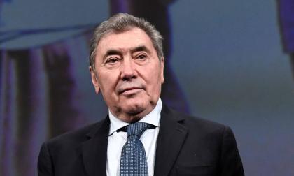 Eddy Merckx llega hoy a 75 años de edad.