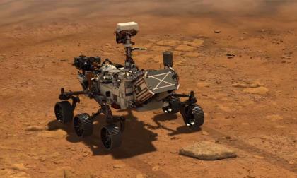 Animación del Mars Rover Perseverance.