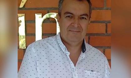 Foto en vida del ganadero Juan Pablo Castillo.
