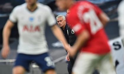 José Mourinho no pudo saborear el triunfo ante su antiguo equipo.