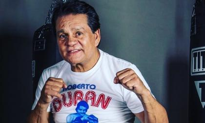 El legendario boxeador panameño Roberto