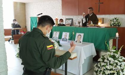 Eucaristía por policías fallecidos en Barranquilla