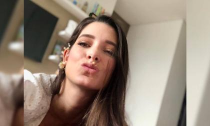 La presentadora en una de sus más recientes publicaciones en su red social Instagram.
