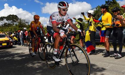 Andrés Camilo Ardila, del UAE Team Emirates.