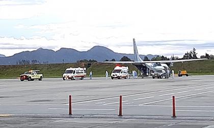 Otros dos quemados en Tasajera llegaron a Bogotá