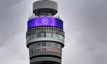 Torre de comunicaciones de la empresa BT en Londres.