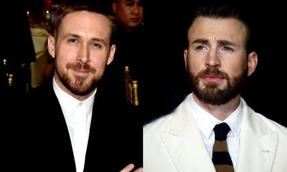 Ryan Gosling y Chris Evans.