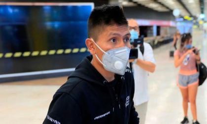 El 'Vuelo del deporte' colombiano aterriza en Madrid