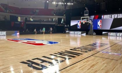 El maderamen que recibirá a las estrellas de la NBA.
