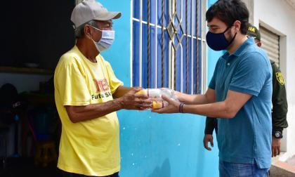 """Distrito busca en Rebolo a mayores de 60 para """"salvarles la vida"""""""
