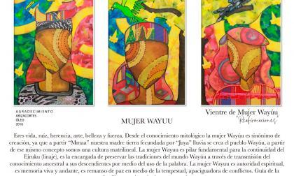 Desde este miércoles se abre la exposición virtual Vientre de Mujer Wayuu