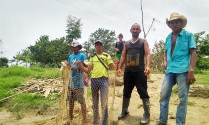Pescadores de Montecristo anuncian protesta sobre el río Cauca