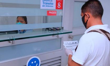Pago de multas de tránsito en Atlántico tendrán descuento del 50%