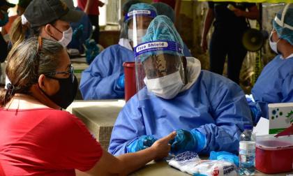Atlántico y Barranquilla siguen con un alto número de pruebas practicadas.