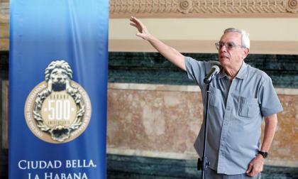 Fallece en Cuba Eusebio Leal, artífice de la restauración de La Habana
