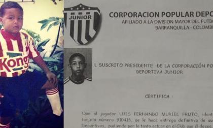 El ciclo de Luis Fernando Muriel en Junior fue de solo tres años (2003-2005).